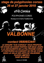 stage polyphonies corses